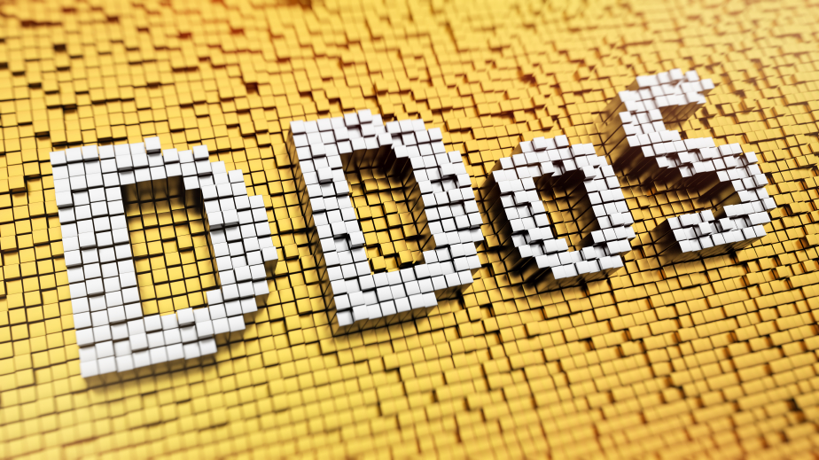 DDoS Image, Mosaic Style