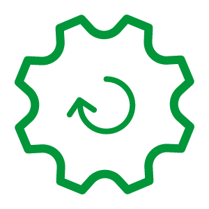 Automation gear icon