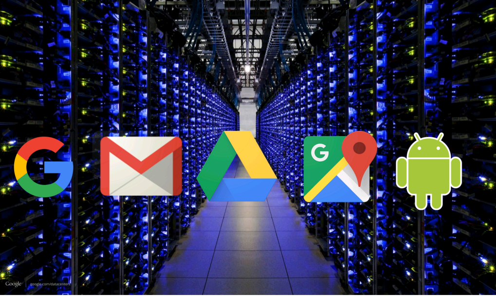 "Google cloud services include search, Gmail, Google Drive, Google Maps, and Android [webinar ""Deploying NGINX Plus & Kubernetes on Google Cloud Platform"" includes information on how switching from a monolithic to microservices architecture can help with application delivery and continuous integration - broadcast 23 May 2016]"