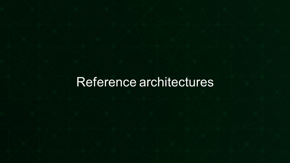 Investing in Reference architectures including the microservices reference architecture [presentation by Gus Robertson,of NGINX at nginx.conf 2016]