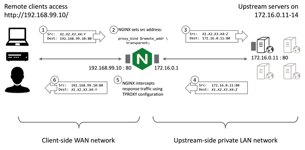 Ip transparency and direct server return with nginx plus stopboris Images