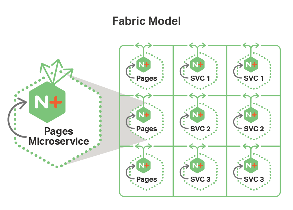 Microservices on openshift with the nginx mra fabric model for Openshift 3 architecture