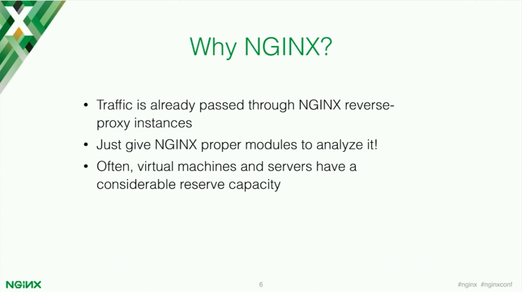 Why NGINX for application security? [presentation by Stepan Ilyan, cofounder of Wallarm, at nginx.conf 2016]