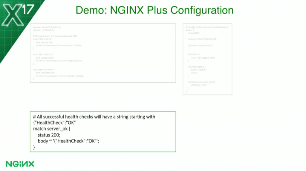 Fun with health checks using nginx plus and docker nginx for Consul dns docker