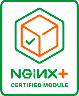 NGINX Plus Certified Module Badge