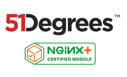 51Degrees NGINX Plus Certified Module Combines Patented Device Detection with the Simplicity of NGINX